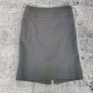 BANANA REPUBLIC PENCIL SKIRT ||| GRAY